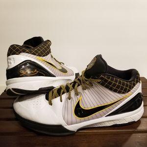 Nike Kobe 4 Protro Del Sol White Black